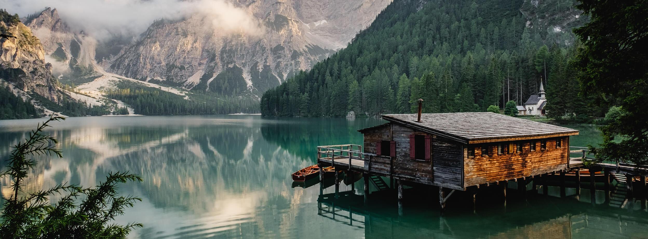 My cabin,